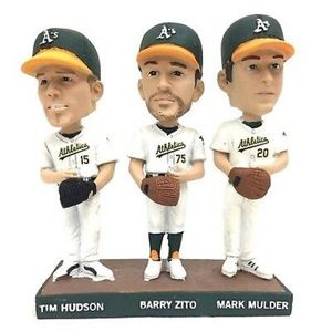 Oakland A's Big Three Bobblehead